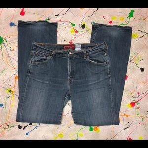 Levi's 515 Bootcut Low Rise Jeans Sz 14